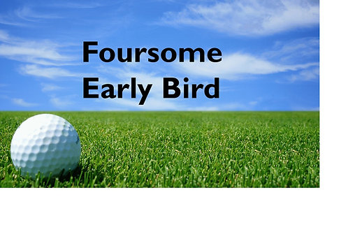 Early Bird Foursome Golf Tournament Package (prepaid by 7/16/18)