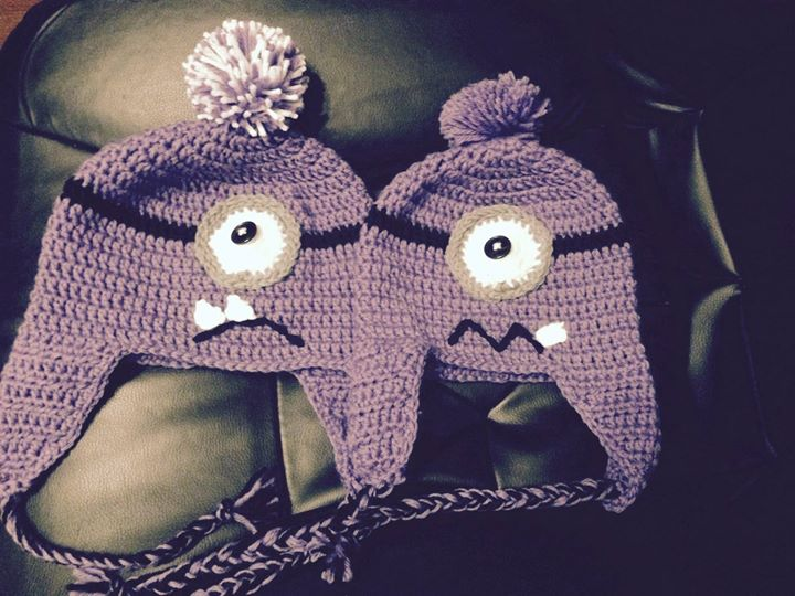 Tiffany Danyl Davis The purple monster minions