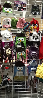 Hello Kitty, Owls, Panda Bear, Monkey, Sock Monkey, Minion, Desicable Me, Frog, Zebra, Cat