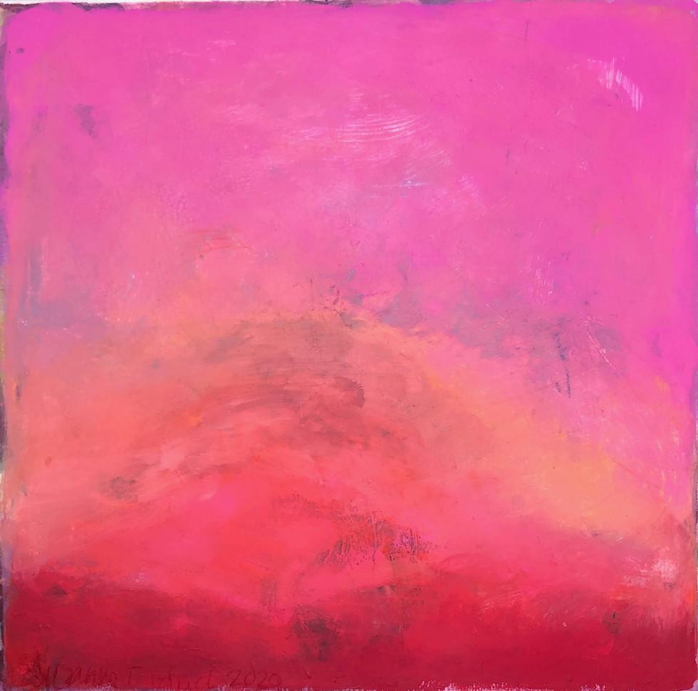 Licht und Liebe -80 x 80cm -Gouache auf