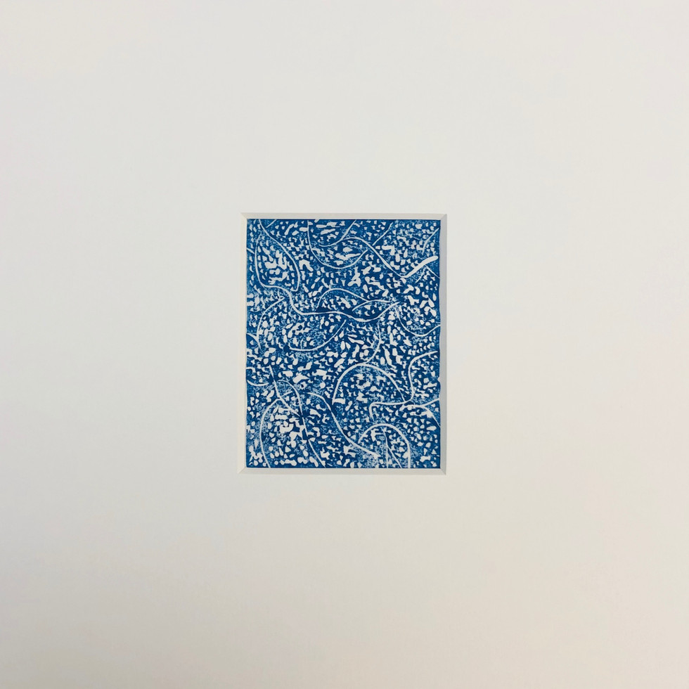 Flow-Konigsblau -8 x 10 cm -Japanischer