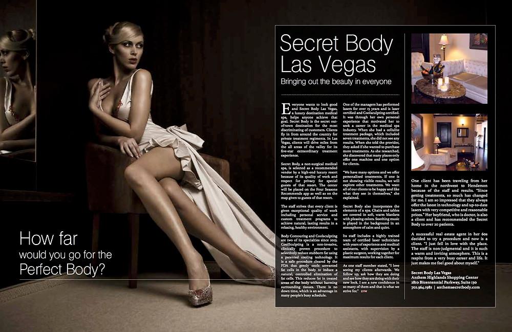 Secret Body Henderson