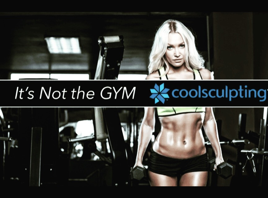 coolsculpting women at the gym