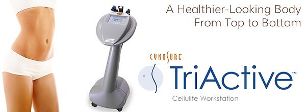 Cynosure Triactive skin tightening - cellulite reduction - secret body henderson reviews