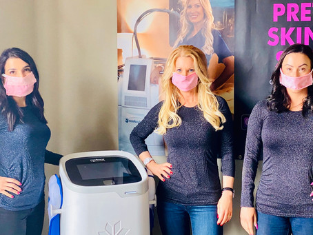 Secret Body Coolsculpting Clinic designs masks for their clients