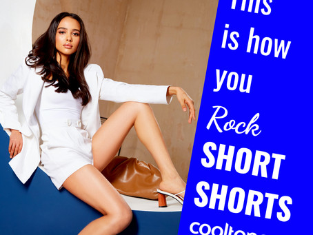 Rock Short Shorts with CoolTone by Coolsculpting