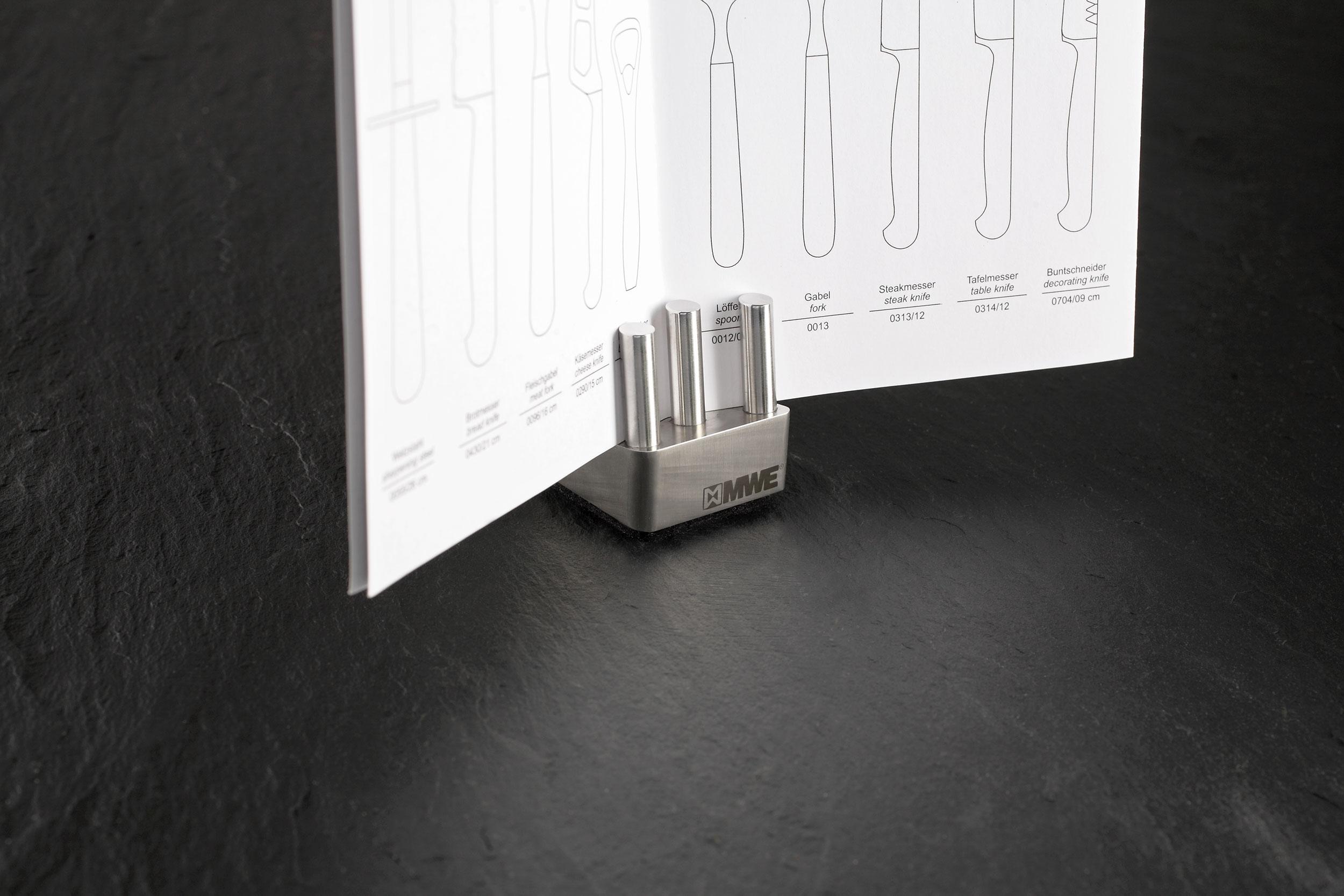MW Interior Büroserie Zettelhalter