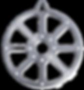 Halskette Spider Edelstahl mit Swarovskisteinen