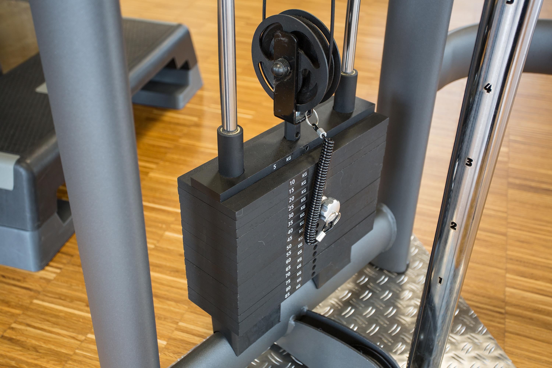 CasaVital Fitnessstudio Gewichte