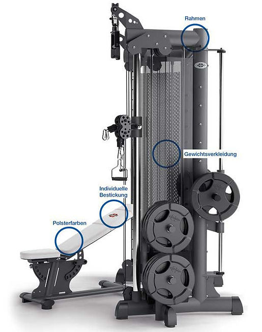 MWE Multipowerstation 5 Fitnessgeräte in 1