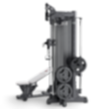Multipowerstation Fitnesstraining auf 2,5 Quadratmetern