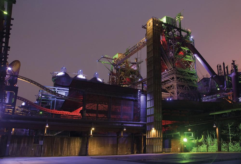 Hochofen - Eisengewinnung - Eisenverarbeitung