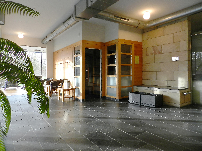 CasaVital Sauna Komplettansicht
