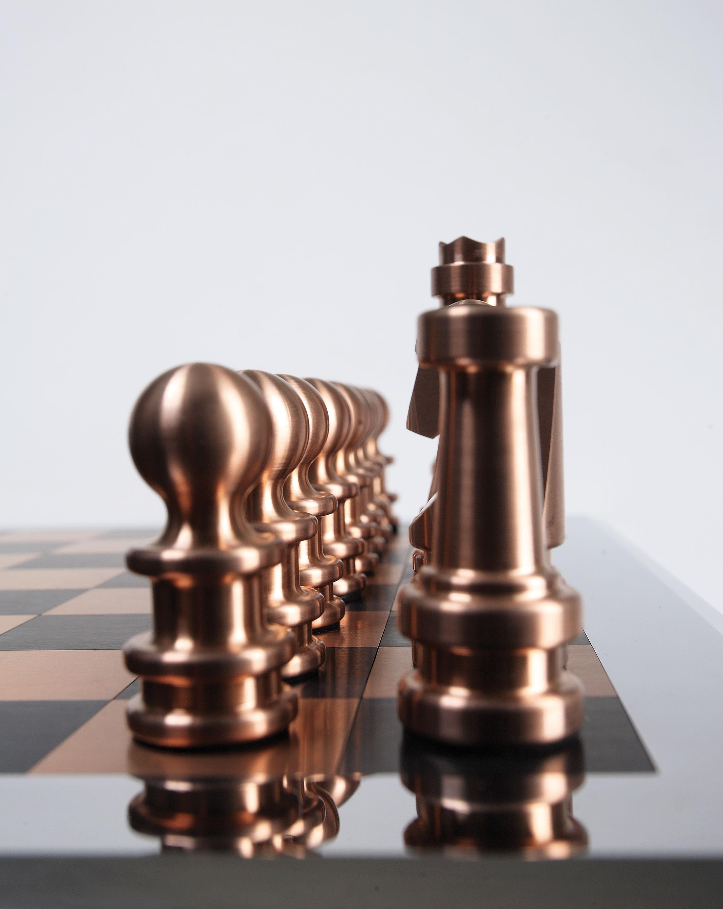 MW Interior Schachspiel Figuren