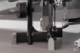 Multipowerstation mit Edelstahlelementen poliert