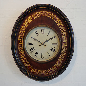 071-French 19th Century Tole Clock