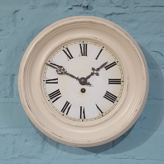 651-French Tin Wall Clock