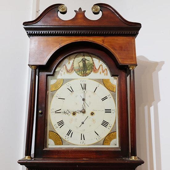 412-Scottish Mahogany Longcase Clock