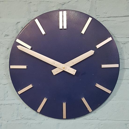 601 -CONVEX MID CENTURY WALL CLOCK