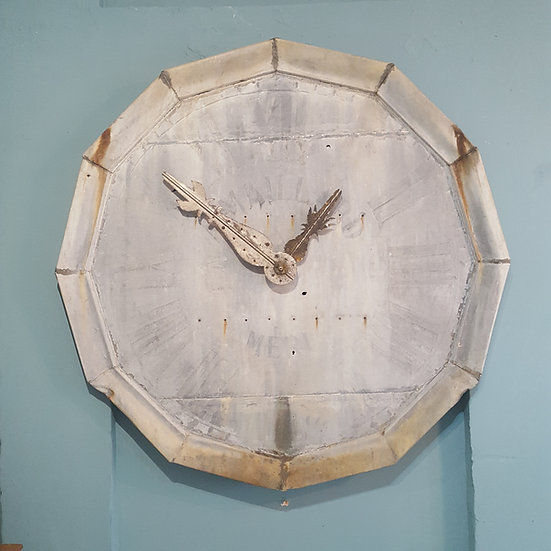 593 - VERY RARE 19th CENTURY FRENCH TURRET CLOCK