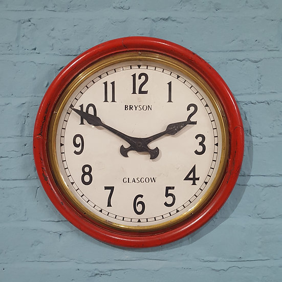 701 - A Scottish Antique Wall Clock