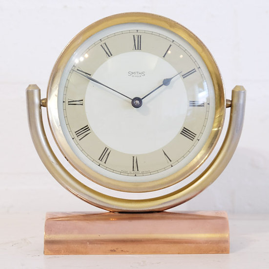 319-Art Deco Mantel Clock