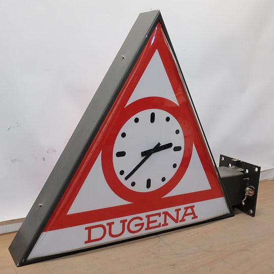 432-Retro Advertising Dugena Clock
