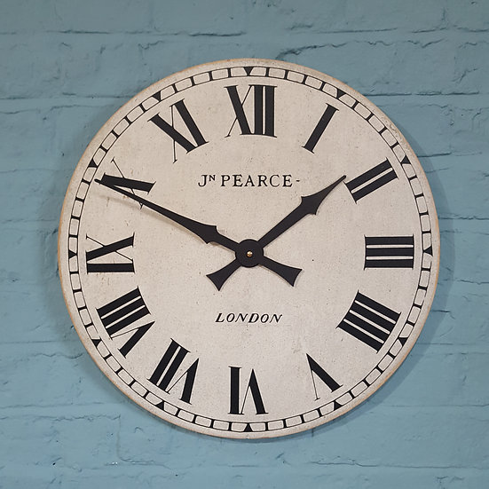 277-Large Wooden Wall Clock (new)
