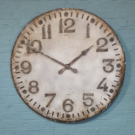409-Large Art Deco Wall Clock