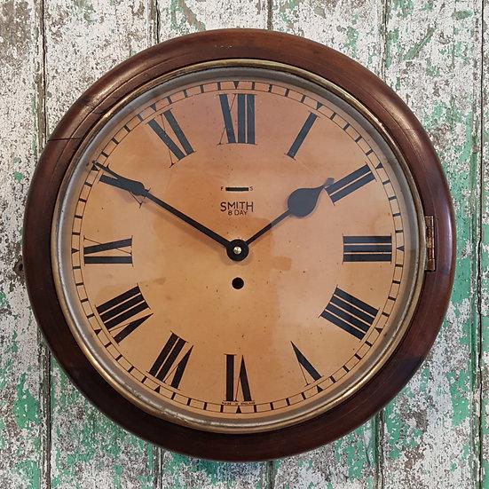 579 -Mid Century Smiths Wall Clock