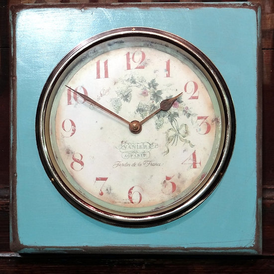 490 Square French Style Vineyard Clock