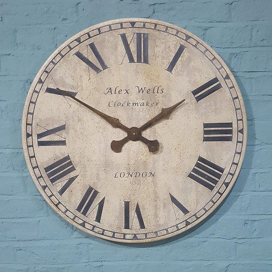 567 - Alex Wells Wall Clock
