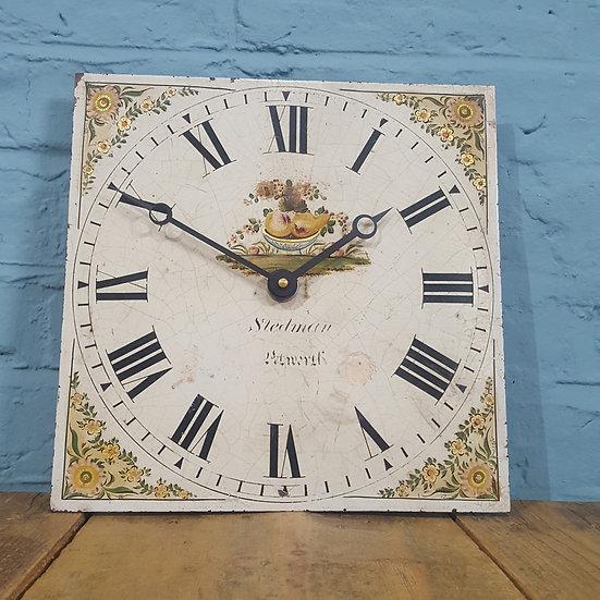 686 - Antique 19th Century Clock Dial (Working)