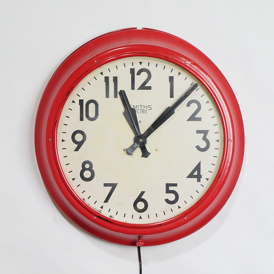 210-1960's Smiths English Wall Clock