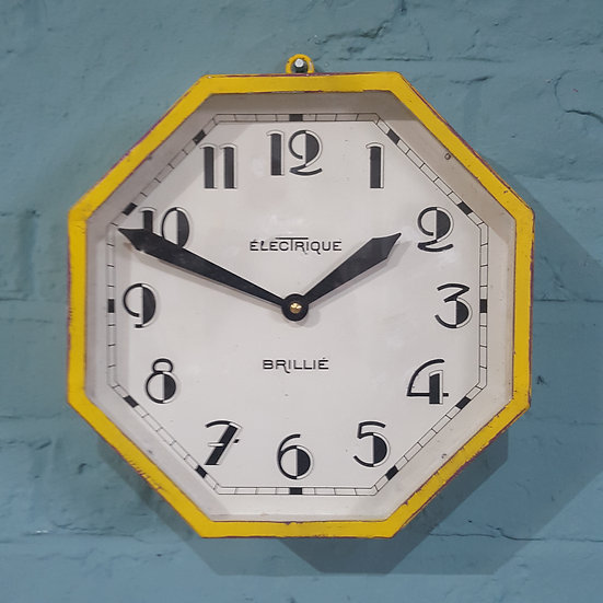 658-French Art Deco Wall Clock