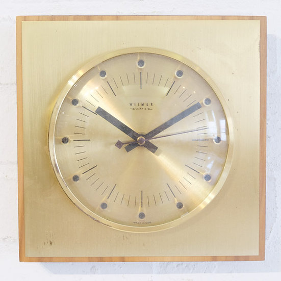 265-Classic Retro clock from East Germany