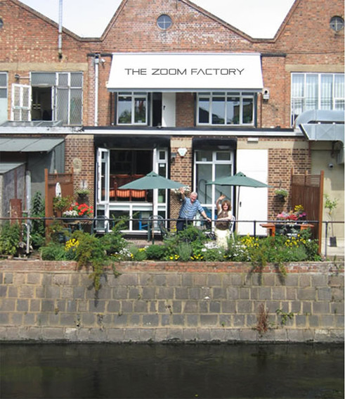 Located next to the river Wandle