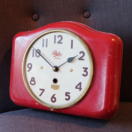324-1930s Tin Clock
