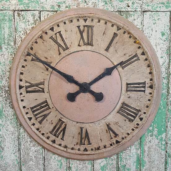 575 - Pink Turret Clock
