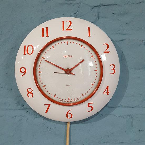 679 - Rare Smiths Porcelain Wall Clock