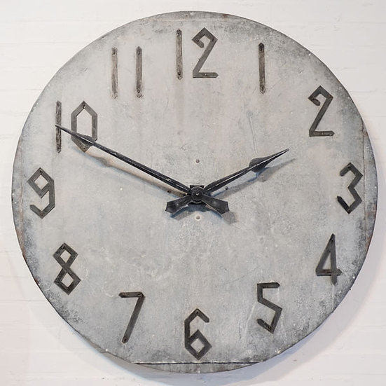 207-Unusual French Art Deco Wall Clock