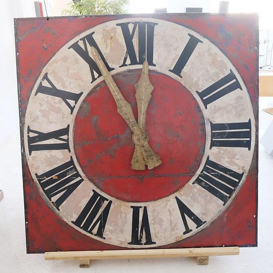419-Large Square Turret Clock