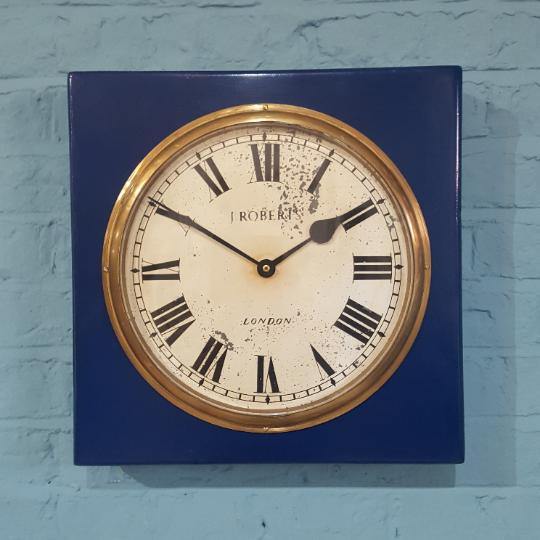 521- J Robert Cased Clock