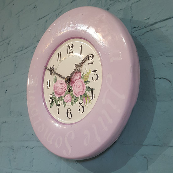 511-Decorative 1930's Wall Clock