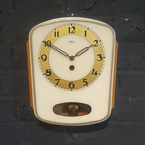629 - Retro Czechoslovakian Wall Clock