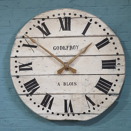 390-Large French style turret clock (new)