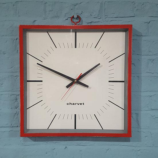652-Mid Century Modern Wall Clock