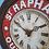 Thumbnail: 694 - Rare 1930's French Advertising Wall Clock