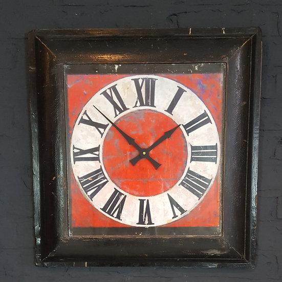 294 - Antique Framed Clock