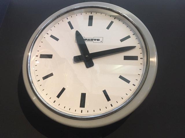 584 - Lepaute Mid-Century wall clock